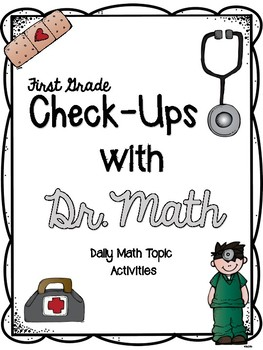 1st Grade Check-Ups with Dr. Math - Addition Concepts (Florida State Standards)