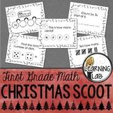 1st Grade Christmas Math Scoot