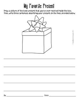 1st Grade Christmas Printables