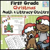 Christmas Center Activities 1st Grade Christmas Math and Literacy Centers
