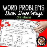 1st Grade Christmas Word Problems