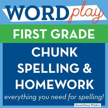 1st Grade Chunk Spelling