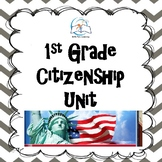 1st Grade Citizenship Unit
