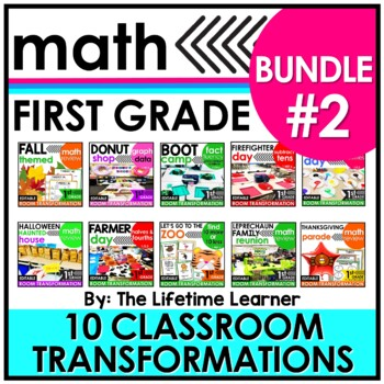1st Grade Classroom Transformations | Bundle #2