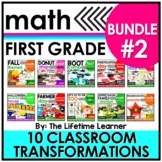 1st Grade Classroom Transformations   Bundle #2