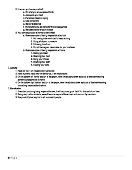 1st Grade College and Career Lesson Plan