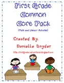 1st Grade Common Core Activity Pack