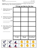 1st Grade Common Core Aligned Cut and Glue Graphing Pack