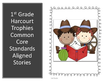 """1st Grade Common Core Harcourt Reading """"I Can"""" Statements"""