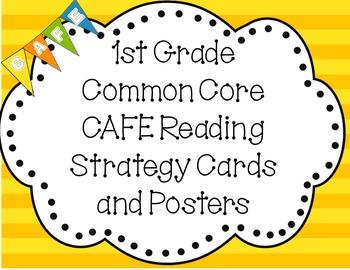 Cafe Menu Common Core St Grade
