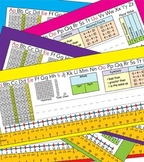 1st Grade Common Core Desk Plates Six Colors