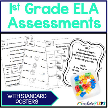1st Grade Common Core ELA Assessments