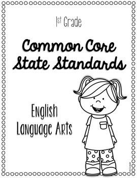 1st Grade Common Core ELA & Math Standards