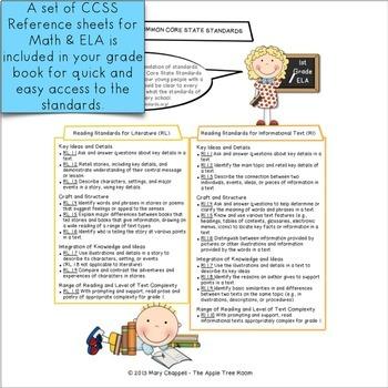 Grade Book CCSS 1st Grade
