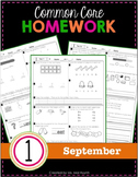 1st Grade Homework: September