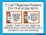"""1st Grade Common Core """"I Can"""" Posters- BUNDLE- Reading, Wr"""