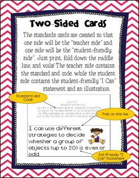 "1st Grade Common Core ""Kid Friendly"" Posters- Math"