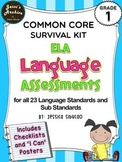 Common Core Language 1st Grade