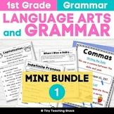 1st Grade Language Arts No-Prep Printables Bundle 1 (Commo