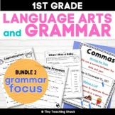 1st Grade Language Arts No-Prep Printables Bundle 1 (Commo