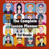 1st Grade Lesson Plan Template: All Subjects w/ Common Cor