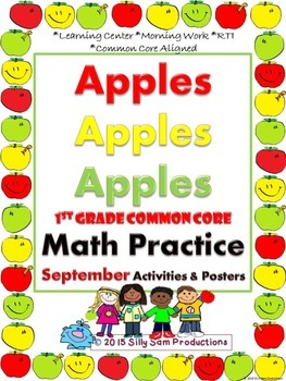 SEPTEMBER MATH! Activities and Posters APPLES-APPLES!