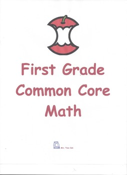 1st Grade -All Common Core Math Standards -Student Activit