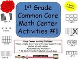 1st Grade Common Core Math Activity Centers #1
