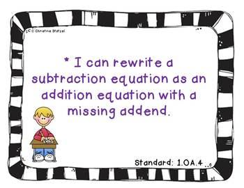 1st Grade Common Core Math Assessment Tasks