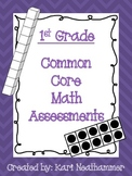 1st Grade Common Core Math Assessments