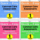 1st Grade Common Core Math Assessments- FREEBIE