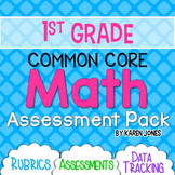 First Grade Math Assessments {CCSS ALL STANDARDS}