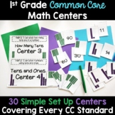 1st Grade Math Centers -Covers ALL 1st Grade Math Standards