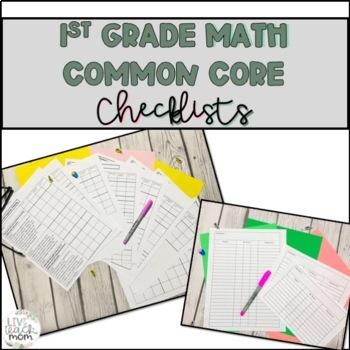 1st Grade Common Core Math Checklist for differentiation