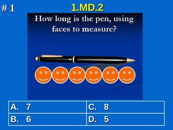 1st Grade Common Core Math Comprehensive Practice #1 All 2