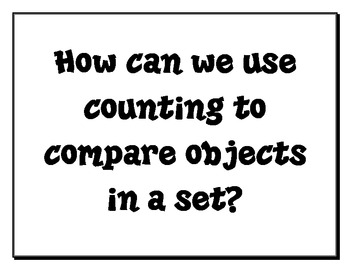 1st Grade Common Core Math Essential Questions