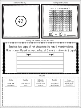 Math Journal for Firsties Volume 2