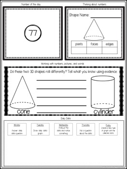 Math Journal for Firsties Volume 4