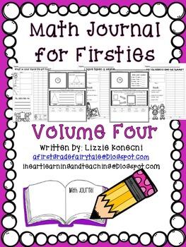 Math Journal for Firsties Volume 4