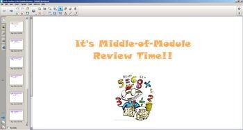1st Grade Common Core Math Mid-Module 6 Review
