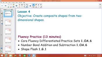 1st Grade Common Core Math Module 5 Topic B Lessons