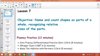 1st Grade Common Core Math Module 5 Topic C Lessons