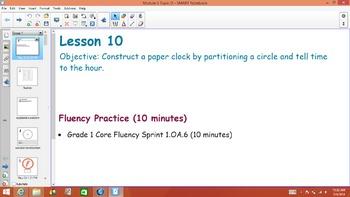 1st Grade Common Core Math Module 5 Topic D Lessons