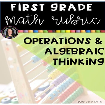 1st Grade Math Rubric - Operations and Algebraic Thnking