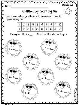 1st Grade Common Core Math Practice Pages