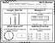 1st Grade Common Core Math Review: Measurement (set 6)