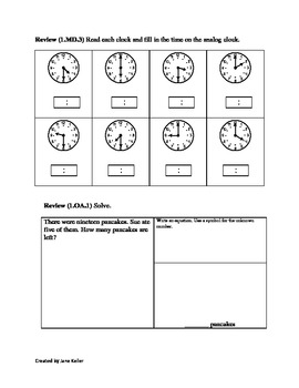 1st Grade Common Core Math Worksheet 1.OA.6 Add & Subtract within 20