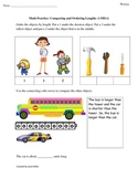 1st Grade Common Core Math Worksheets 1.MD.1 Compare and O