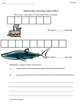 1st Grade Common Core Math ... by Jane Keller | Teachers ...