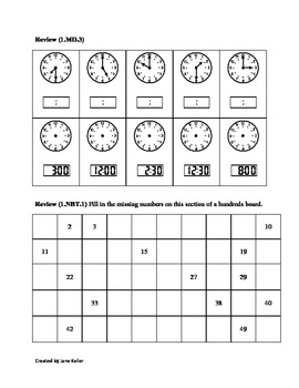 1st Grade Common Core Math Worksheets 1.OA.1 Word Problems to 20